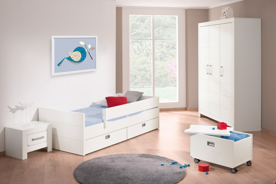 paidi fiona liege 90 x 200 cm inkl lattenrost im. Black Bedroom Furniture Sets. Home Design Ideas