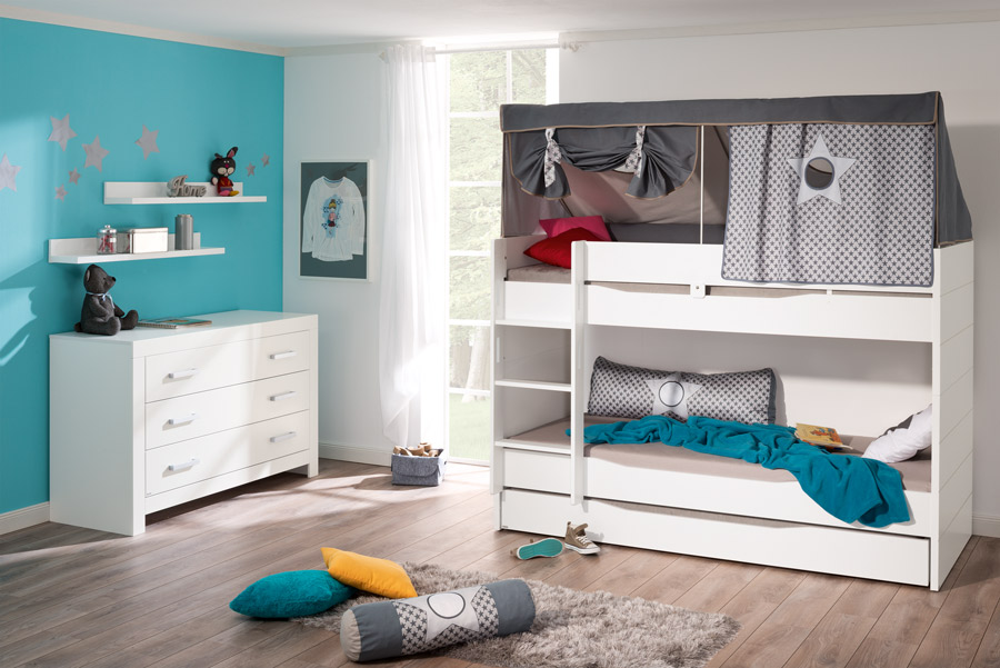 paidi fiona spiel und hochbettvarianten im wallenfels. Black Bedroom Furniture Sets. Home Design Ideas