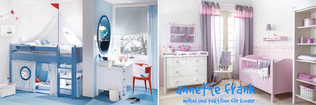 Schicke Kindermöbel, Teppiche und Accessoires von Annette Frank