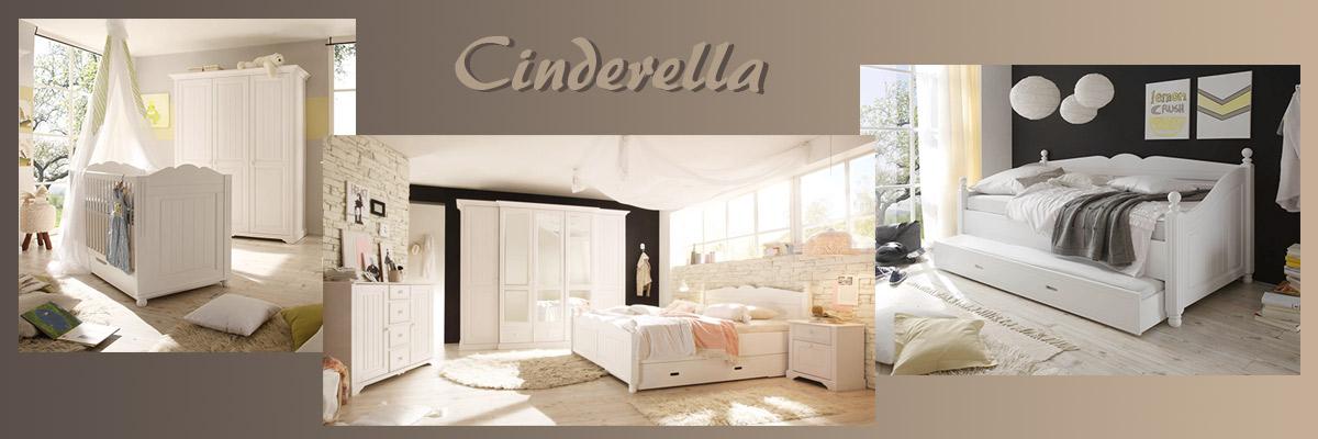 Cinderella Möbel für Kinder und Erwachsene im weißen Landhausstil von First Loft