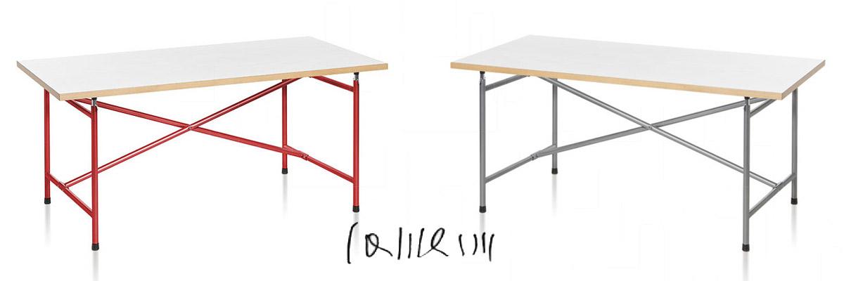 Eiermann Schreibtische im Architekten Design für Kinder und Erwachsene