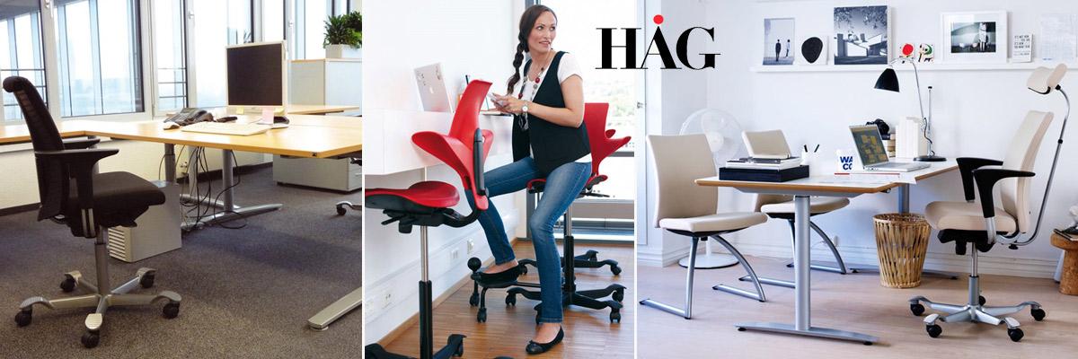 Ergonomische und exklusive Bürostühle, Erzieherstühle und Schülerstühle von Hag
