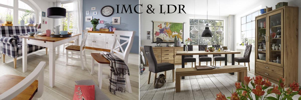 IMC& LDR bietet Buche- und Kieferbetten für Kinder, sowie Polster- und Esszimmermöbel
