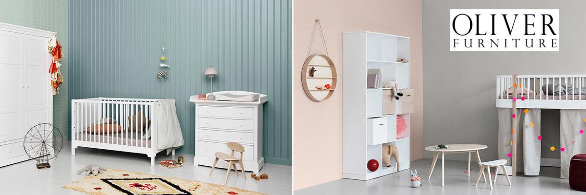 Exklusive Betten, Regale, Virtinen, Kommoden und Schreibtische aus den Serien Seaside und Wood von Oliver Furniture