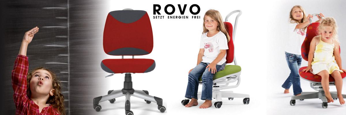 Ergonomische Kinder- und Jugendschreibtische von Rovo