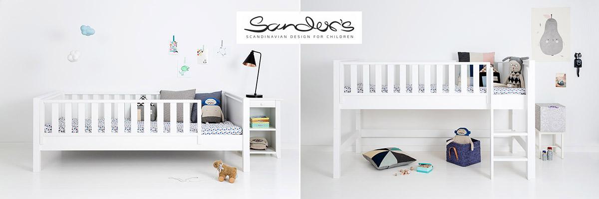 Schöne Kinderbetten, Schreibtische im klassisch nordischen Stil
