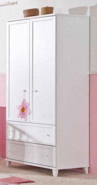 Paidi Sophia Kleiderschrank mit 2 Türen und 2 Schubladen