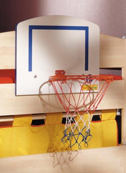 Paidi Basketball- Set, Montage am Bett