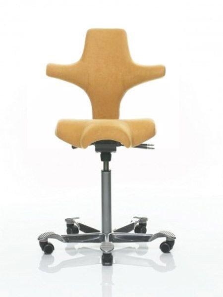 Bürostuhl Capisco 8106 mit Steelcut-Bezug (Farbe wählbar)