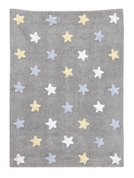Lorena Estrellas Tricolor Gris Azul