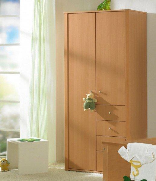 Paidi Varietta Kleiderschrank mit 2 Türen und 4 Schubladen