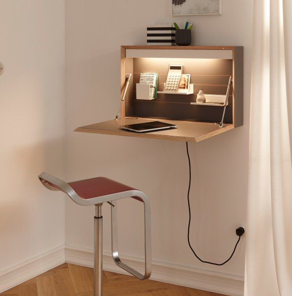 Flatbox mit integrierter Beleuchtung