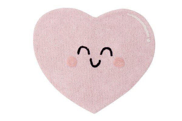 Teppich Happy Heart 105 x 90 cm