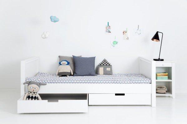Sanders Fanny Bett mit den zwei kleinen Mads Bettkästen