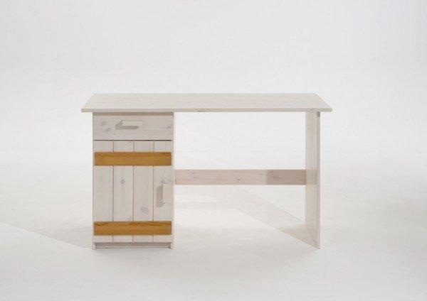 Infans Schreibtisch 810, weiß/ gelaugt