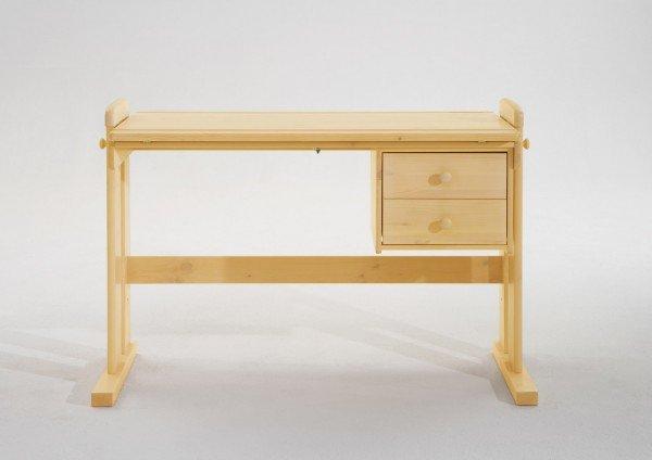 Infans Schreibtisch 813, natur, höhenverstellbar