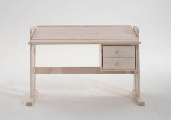 Infans Schreibtisch 813, weiß, höhenverstellbar
