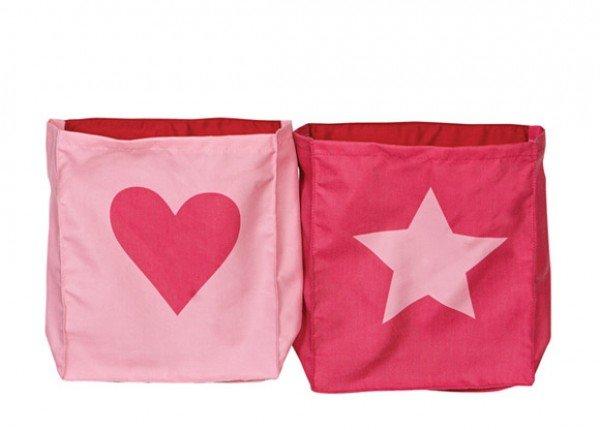 Manis-h Betttaschen Heart Star
