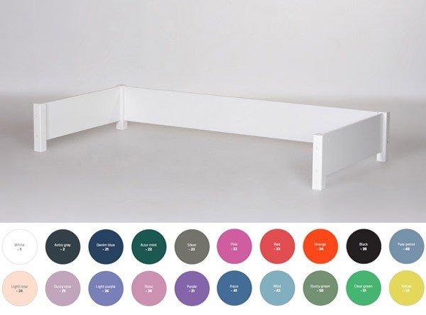 Manis-h Hintere Absturzsicherung, auch in der Farbkombination mit Pfosten in Buche natur erhältlich!