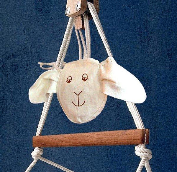 Mira Art Seiltasche Schaf