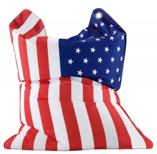 Sitting Bull the bull fashionbag - stars & stripes