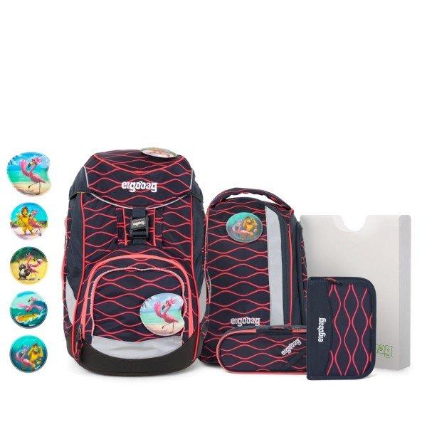 Schulrucksack Pack-Set WellenreitBär, 6-teilig