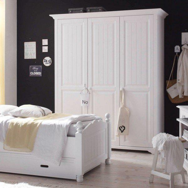 Cinderella Premium Kleiderschrank mit drei Türen