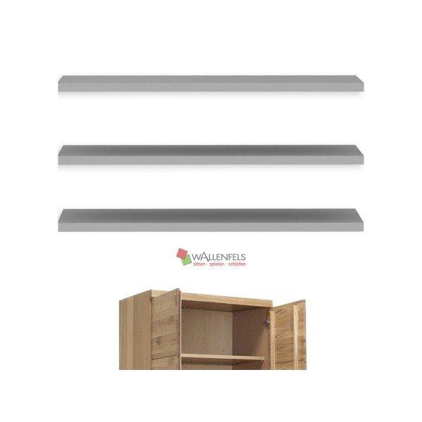 Vomika Einlegeböden 3er-Set (B 87cm), für 2-türigen Kleiderschrank