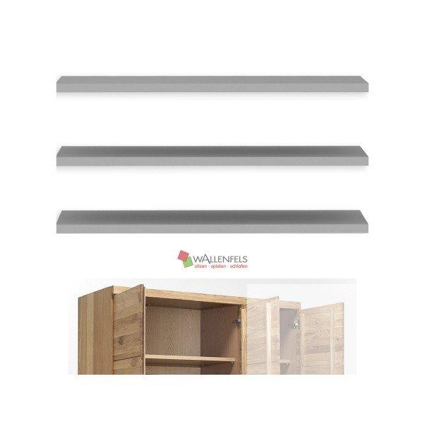 Vomika Einlegeböden 3er-Set (B 88cm), für 3-türigen Kleiderschrank