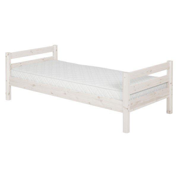 Flexa Classic Einzelbett in whitewash