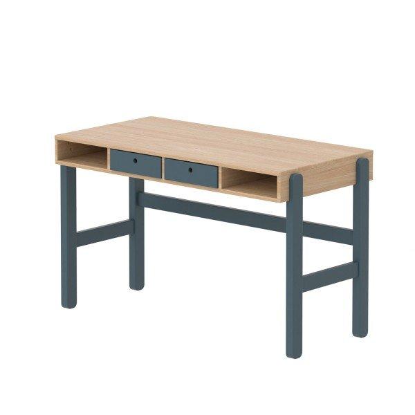 Popsicle Study Schreibtisch in Eiche/Blueberry