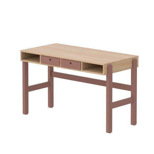 Popsicle Study Schreibtisch in Eiche/ Cherry