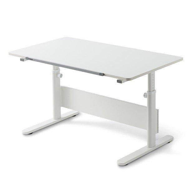 Flexa Study Schreibtisch Evo in deckend Weiß, B 120