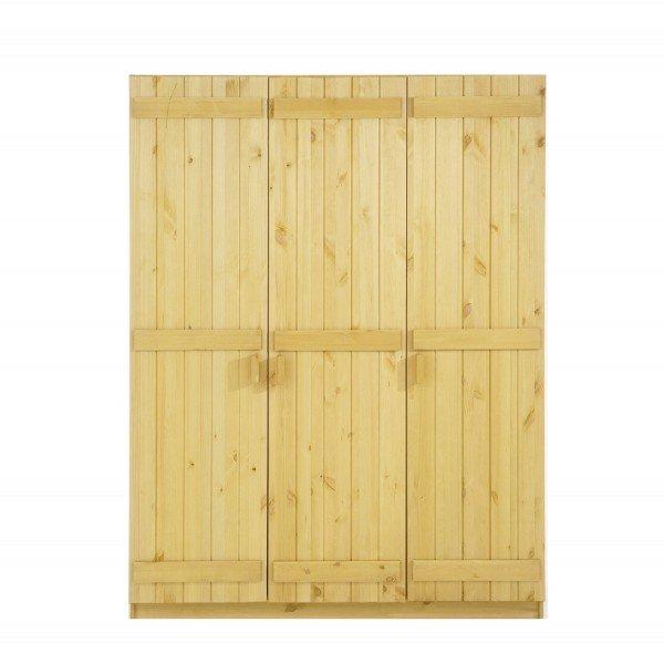 Infans Kleiderschrank 804 mit 3 Türen, natur