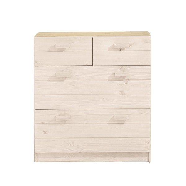 Infans Kommode 806 mit Schubladen in weiß