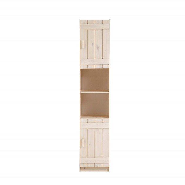 Infans Standregal mit 2 Türen in weiß
