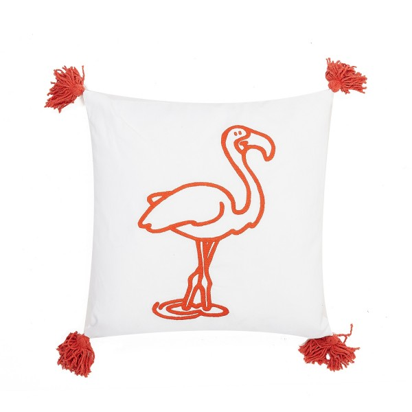 Kissen Flamingo 45 x 45 cm