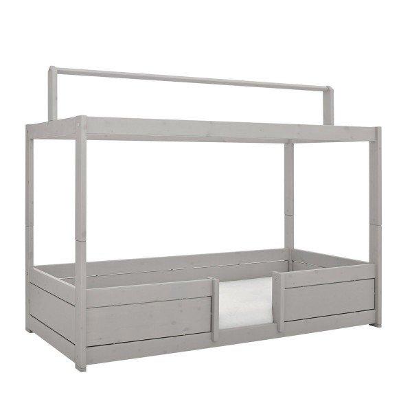 Lifetime Variante 1: mit Dachkonstruktion, Variante 2 wären kleine Beine unten am Bett