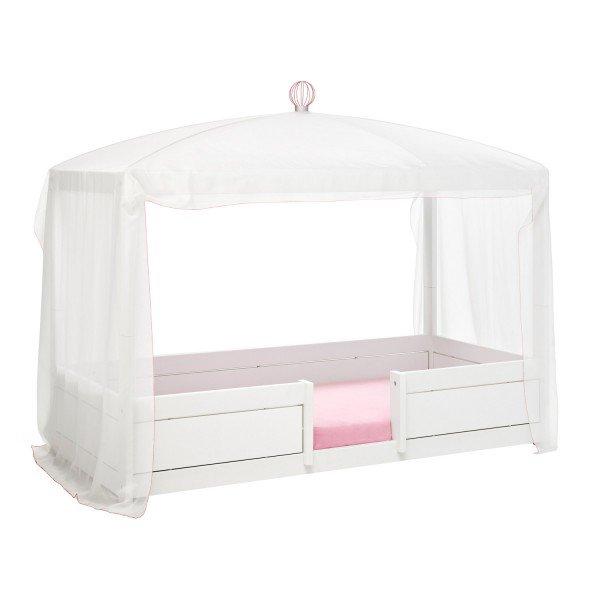 """Lifetime Betthimmel """"white/pink"""" auf einem 4 in 1 Bett"""