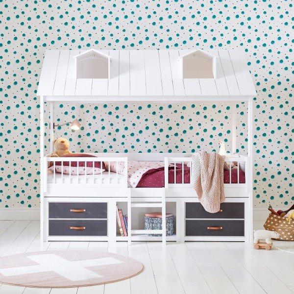 Das Beachhouse Kojenbett wird ein echter Hingucker in Deinem Kinderzimmer.