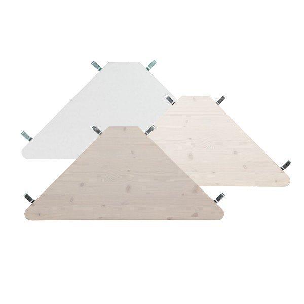 Lifetime Eckablage 693, kann an Lifetime Betten an den Seitenwänden des Bettes oder unter einem Spielbett eingehangen werden.