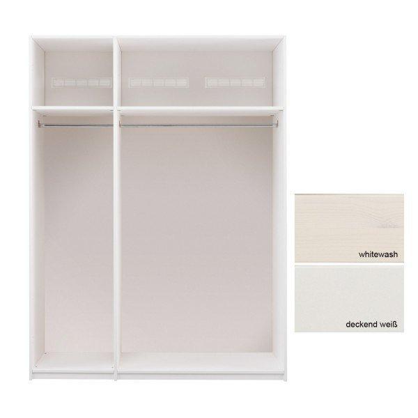 Lifetime Grundelement 150 cm breit, kann mit Türen und Griffen versehen werden.