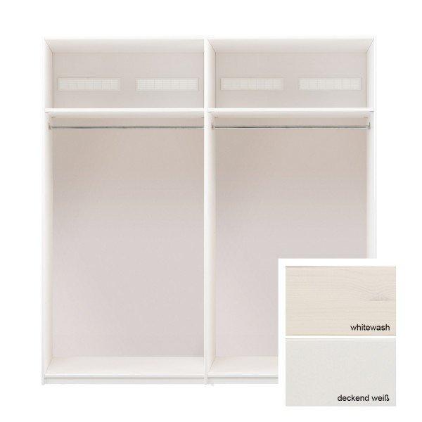 Lifetime Grundelement 200 cm breit, kann mit Türen und Griffen versehen werden.