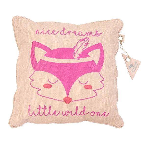 Lifetime Kissen Nice Dreams - Wild Child - quadratisch