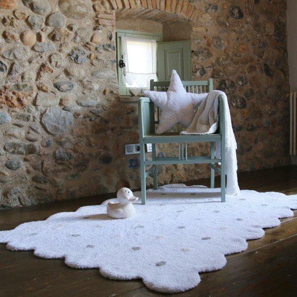 Teppich Biscuit White
