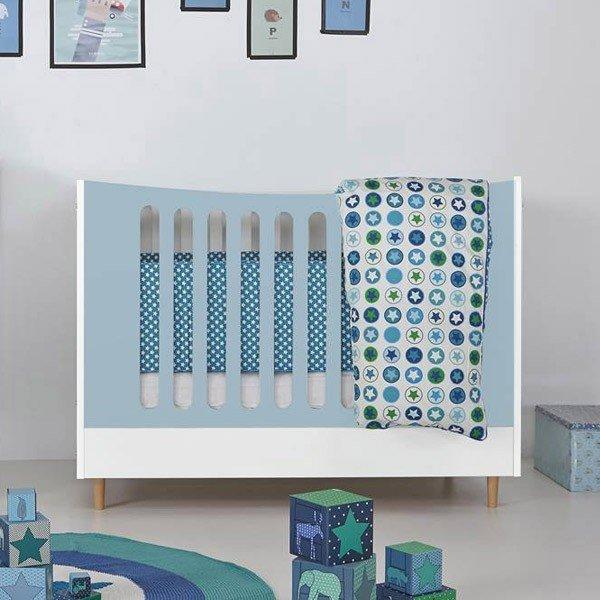 Manis-h Kinderbett in 60 x 120,  ist in 20 tollen Farben und auch zweifarbig erhältlich!