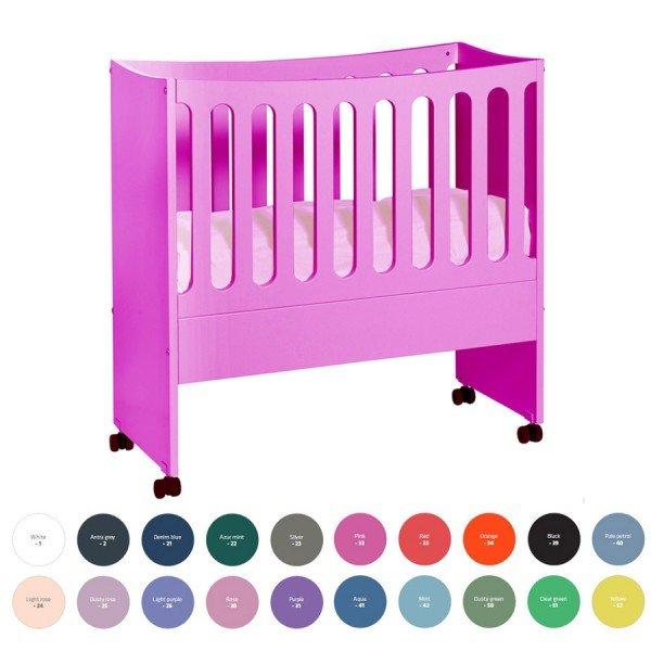 Manis-h Babywiege Smart in pink (Achtung, Farbe nachgestellt)