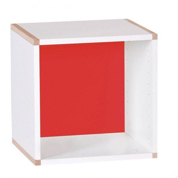 Würfelregal zum Stellen H/B 35 cm, mit Rückwand