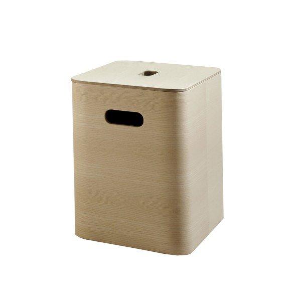 Mild Aufbewahrungsbox Esche mit Sperrholzdeckel