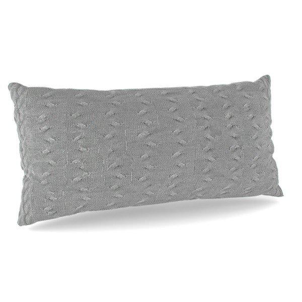 Dekokissen Grey Knit (gestrickt)